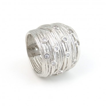 Anillo New Eternity Plata 02